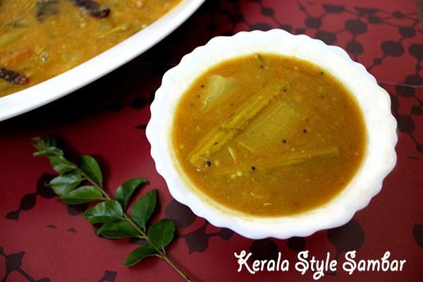 Authentic Kerala Style Sambar RecipeHow to make Sambar